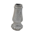 "Cast Iron Collar Base. Fits 5/8"" Round, 3"" H"