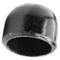 "6"" Cap for Ballards/Parking Barrier"