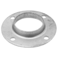 "Steel Pipe Flange. Fits 1-1/2""(1-7/8""OD) Pipe. 4 Holes"