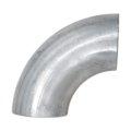 "Aluminum Pipe Elbow, 90 Degree1-1/2"" Diameter."