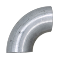 "Aluminum Pipe Elbow, 90 Degree2"" Diameter."