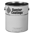 Sumter Flat Black Enamel, 1 Gallon Can