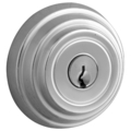 CEL Deadbolt, DC, Brushed Chrome