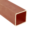 "Sq Tube 1"" x 16 gauge x 24 ft RED Prime"