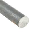 Solid Round Bar, 1/2 in, 20 ft