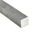"Solid Square Bar, 1/2""x24ft"