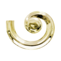 "Brass Lateral Right Hand Side 1-15/16"" Wide, 9"" Length."