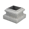 "Cast Iron Base, 1"" Square"