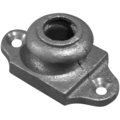 "Ductile Iron Shoe with Ears Fits 3/8"" Round."