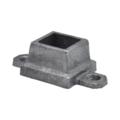 "Ductile Flanged Shoe with Ears. Fits 3/4"" Square."