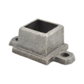"Ductile Flanged Shoe with Ears. Fits 1"" Square."
