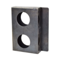 "Steel Lock Box, 1-1/2"" Wide, Double Box."