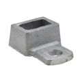 "Aluminum Fitting for 1"" x 1/2""Flatbar, 1 Ear"