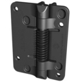 KwikFit Self Closing Fixed    Hinge, Black