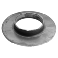"Plain Steel Pipe Flange.  4"" Diameter."